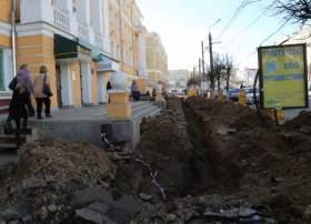 «Долгоиграющая» яма в центре Смоленска