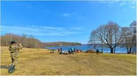 Озеру Диво - чистые берега