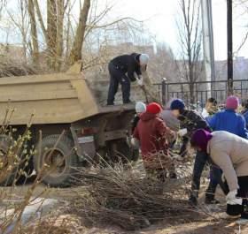 В Десногорске стартовал месячник по уборке города
