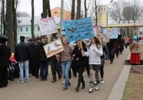 В Смоленске прошли массовые гуляния, посвященные Благовещению