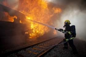 В Подмосковье подожгли вагон электрички, следовавшей из Москвы в Гагарин