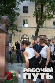 Торжественная церемония открытия мемориальной доски и бюста Борису Васильеву