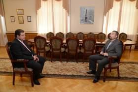 Губернатор Алексей Островский облетел с инспекцией муниципалитеты Смоленщины