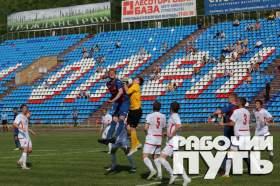 Последнюю игру на стадионе «Спартак» провел смоленский «Днепр» с костромским «Спартаком»