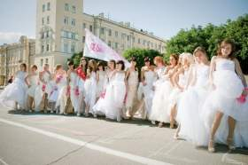 29 июня в центре Смоленска пройдет акция «Сбежавшие невесты»