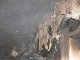 В Смоленске при пожаре в квартире на улице Соколовского пострадал человек