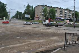 Как убирают Смоленск после страшной грозы