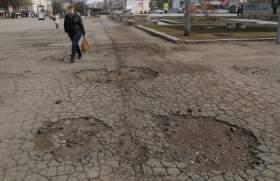 В Смоленске на улице Октябрьской революции обновят асфальт