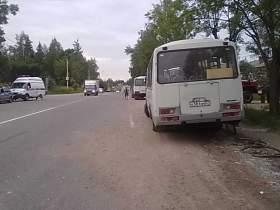 У водителя «ПАЗа», попавшего в ДТП в Печерске, случился эпилептический припадок