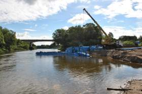 В Смоленске начинается расчистка русла реки Днепр