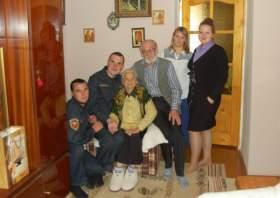 Почетный работник почты России отметил свое 90-летие