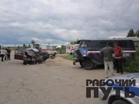 Страшная авария в Гагаринском районе: два человека погибли, два – получили травмы