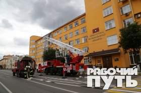 В Смоленске тушили областное УМВД