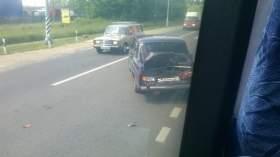 В Смоленске в ДТП попал рейсовый автобус