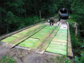 В «Смоленском Поозерье» восстановили мост на дороге Пржевальское-Рибшево