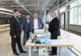 Смоленский губернатор ознакомился с промышленным потенциалом Сафоновского района