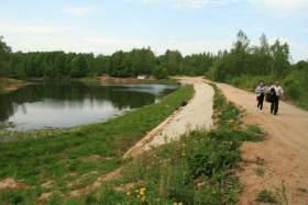 Реадовское озеро «село на мель»