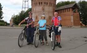 Велотуристы из Украины приехали в Смоленск