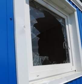 В Монастырщинском районе орудовали вандалы