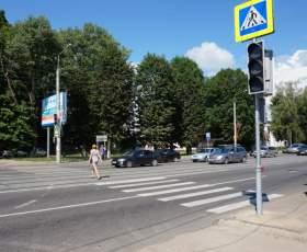 В Смоленске установили еще один светофор