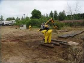 В Смоленской области сотрудники МЧС утилизировали 9585 кг хлора