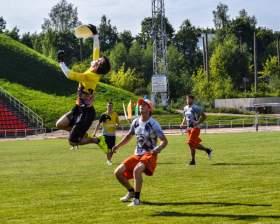 В Смоленске прошел Международный турнир по Ultimate Frisbee