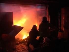 В Вязьме при пожаре на теплотрассе погиб человек