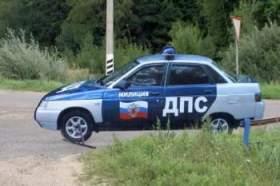 На трассе «Москва-Минск» появились муляжи патрульных автомашин ДПС